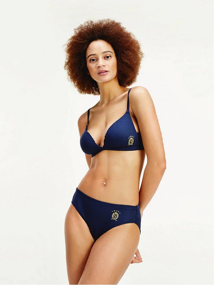 Dámske brazílske nohavičky Tommy Hilfiger Cool Logo Brazilian navy