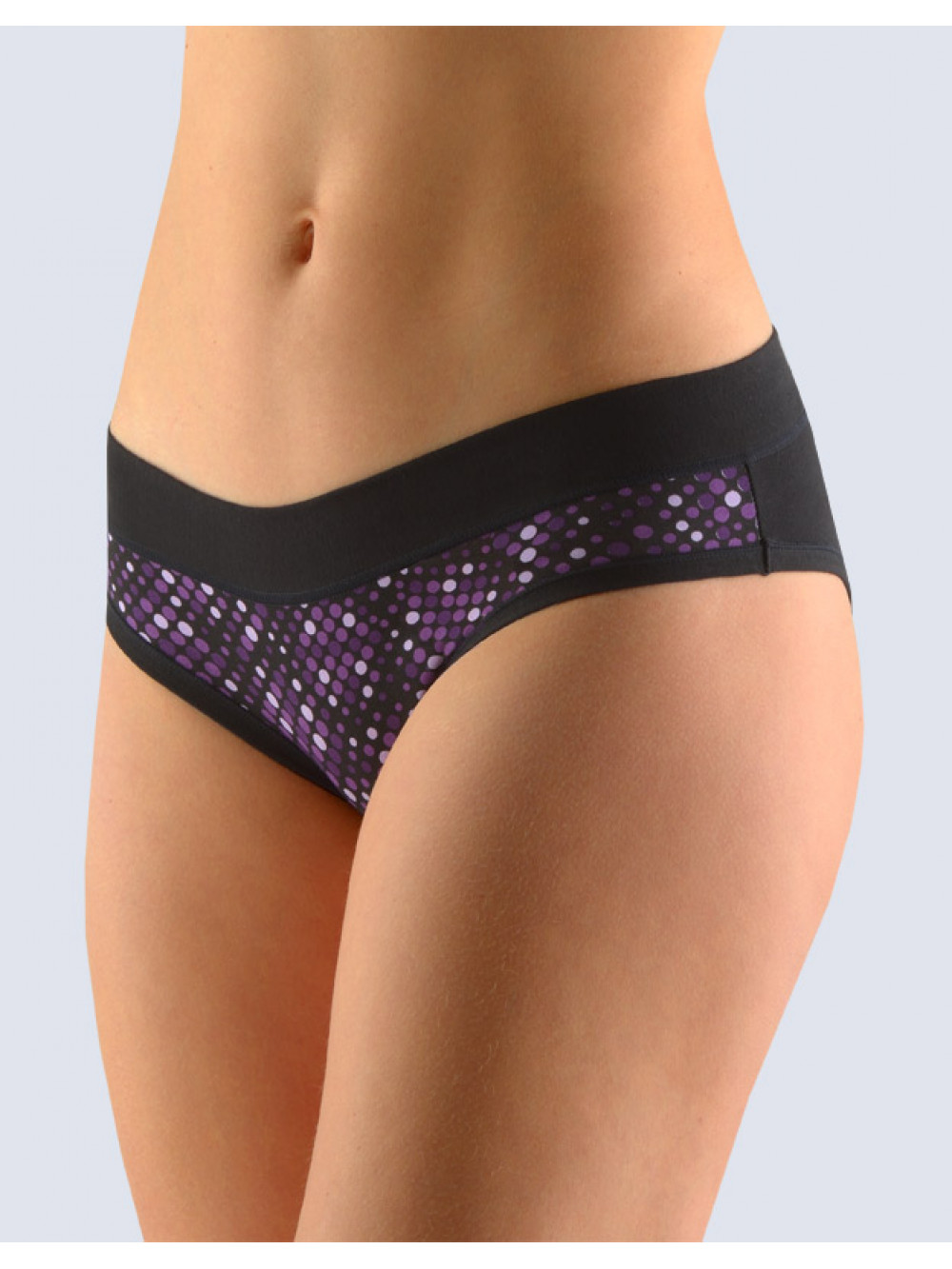 Nohavičky Gina Purple Dots