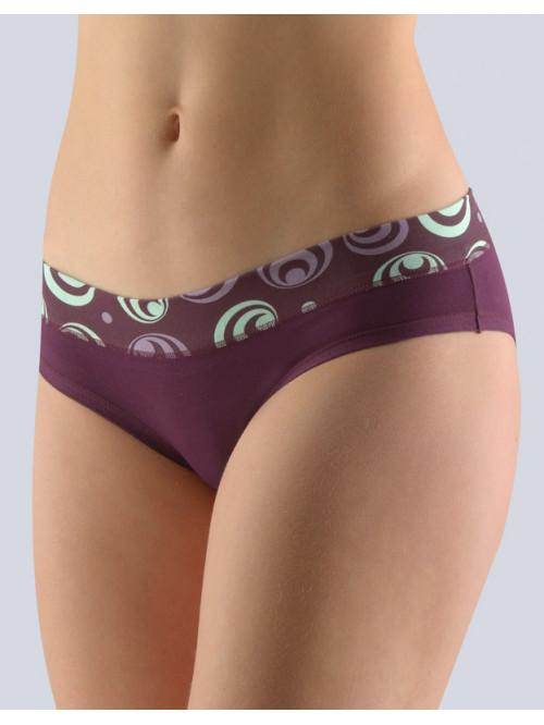 Nohavičky Gina Circles Purple