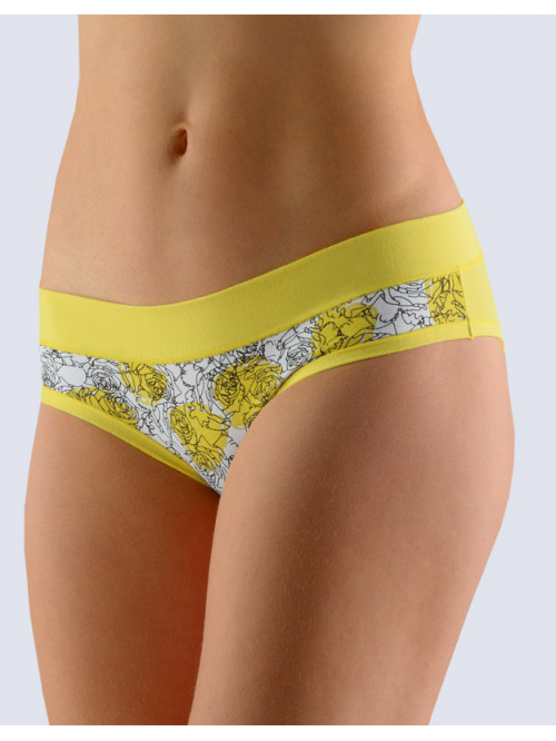 Nohavičky Gina Flowers Yellow