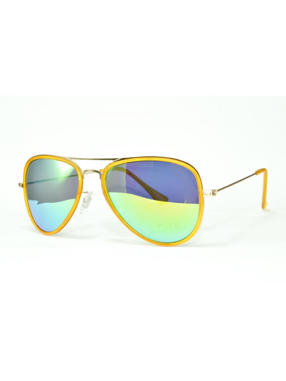 Slnečné okuliare Aviator Pilot XS Yellow