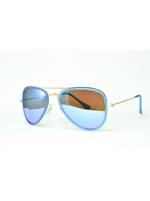 Slnečné okuliare Aviator Pilot XS blue