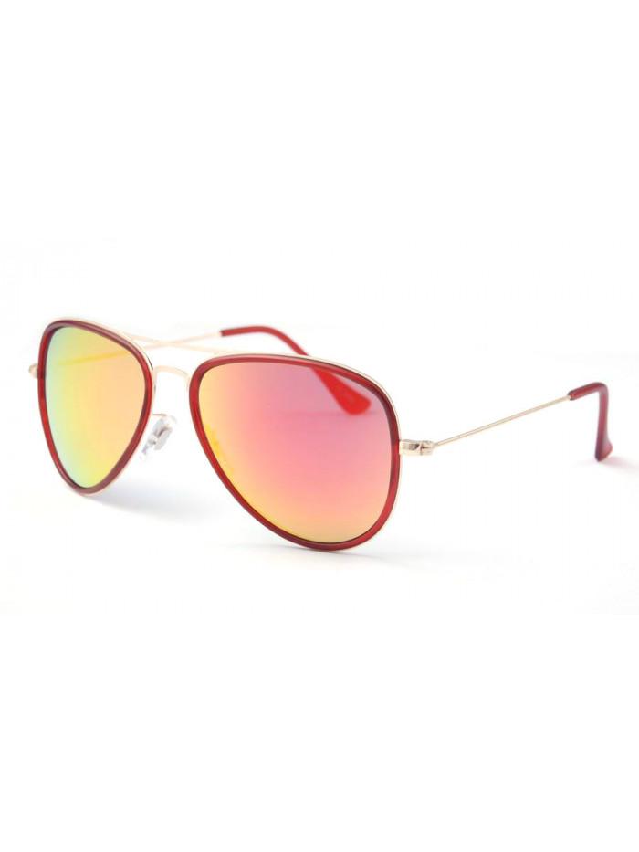 Slnečné okuliare Aviator Pilot XS Red