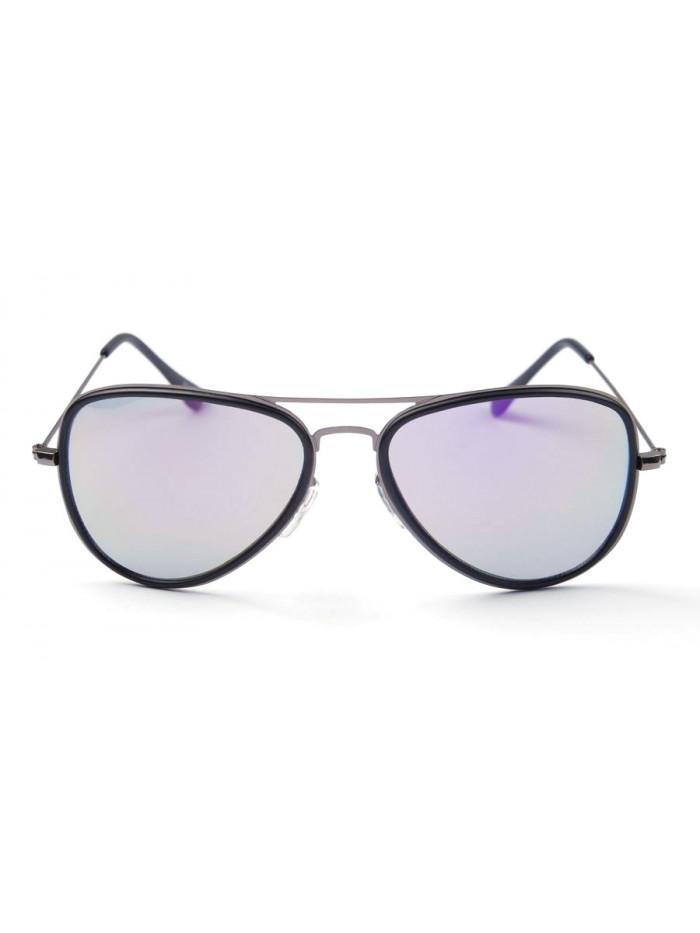 Slnečné okuliare Aviator Pilot XS Purple