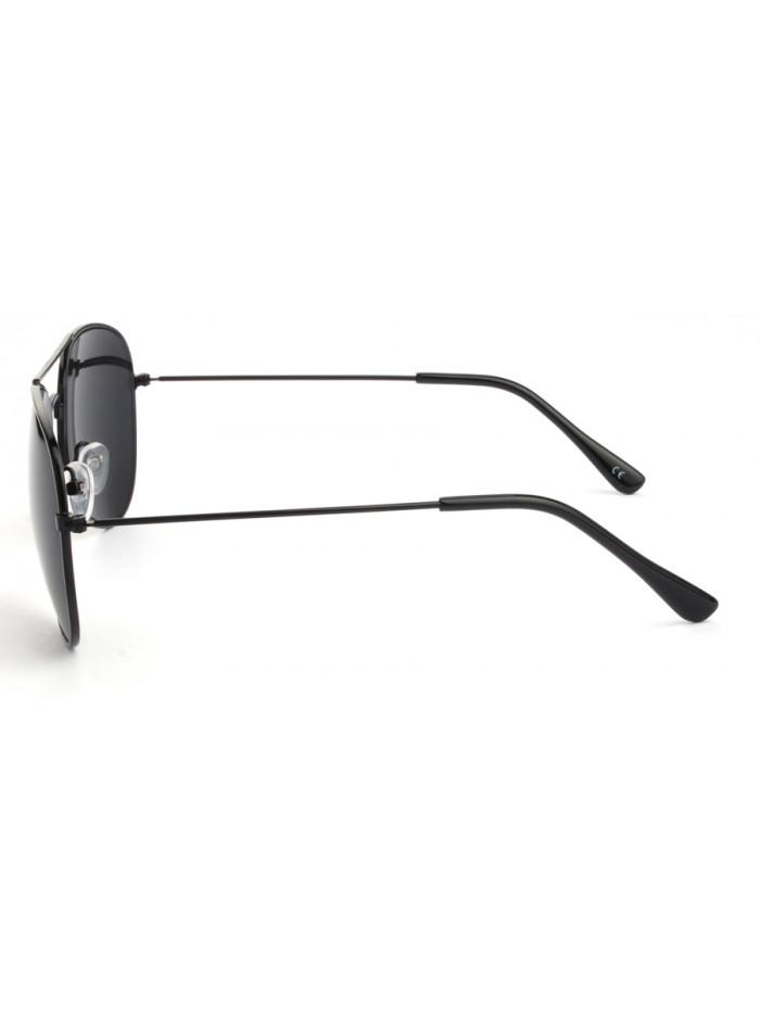 Slnečné okuliare Aviator Pilot Black