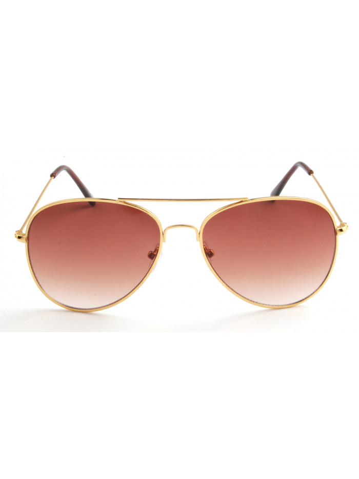 Slnečné okuliare Aviator Pilot Gold
