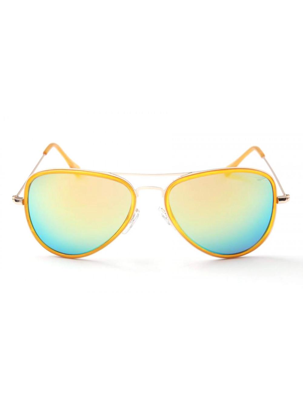 0cd26449a Slnečné okuliare Aviator Pilot XS Yellow