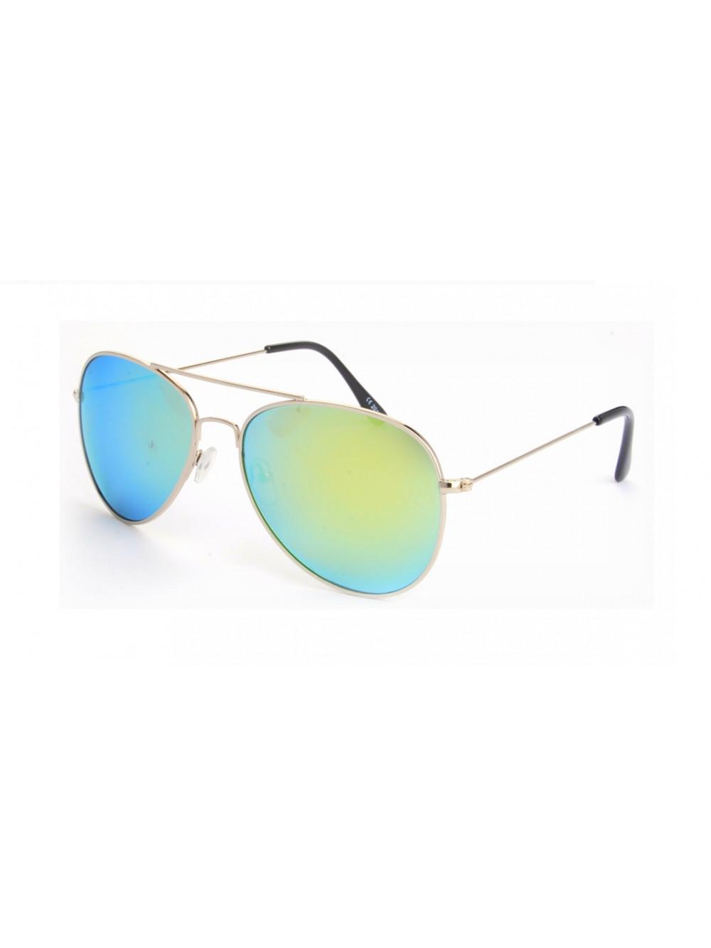 Slnečné okuliare Aviator Pilot Green