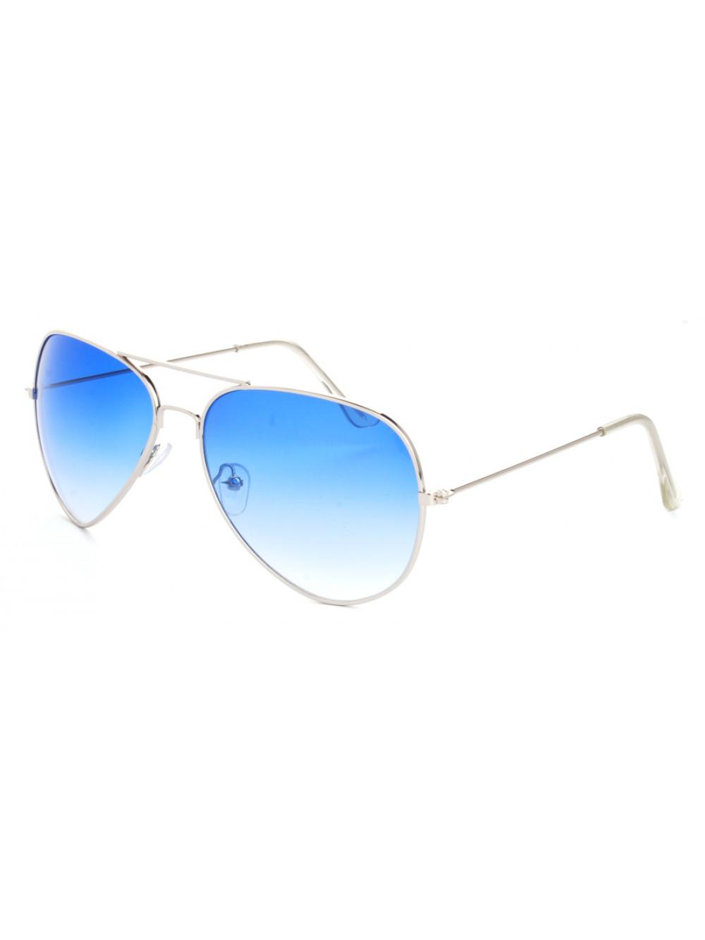 Slnečné okuliare Aviator Pilot Light Blue