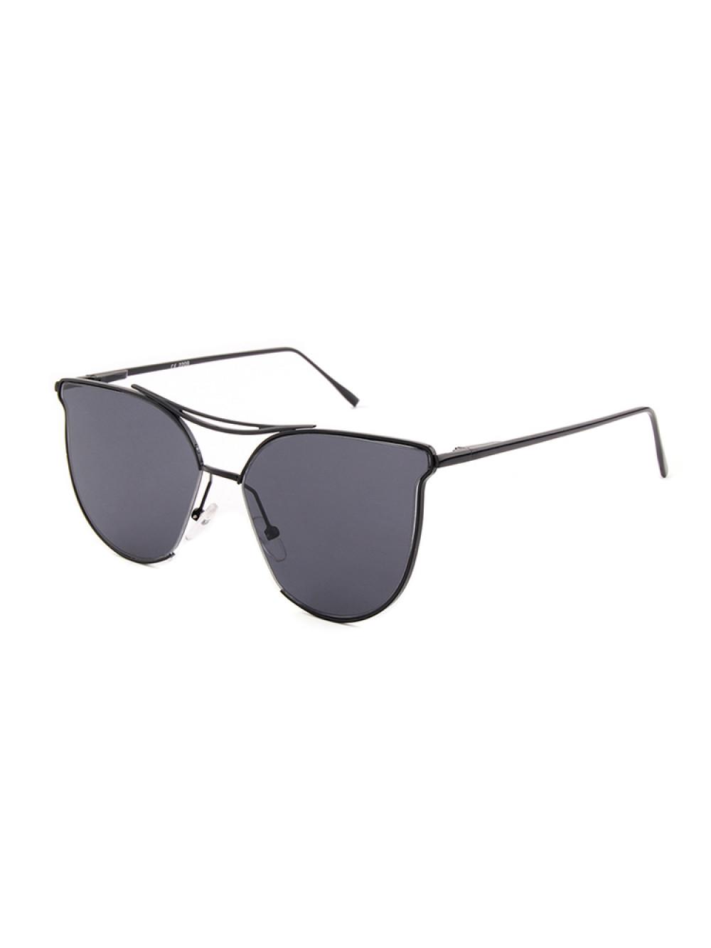 Slnečné okuliare Aviator Lady Black dámske čierne sklá čierny rám d965b27cc25