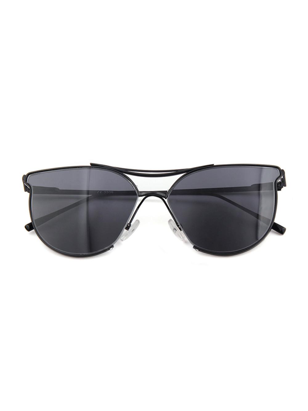 5c6569366 Slnečné okuliare Aviator Lady Black dámske čierne sklá čierny rám