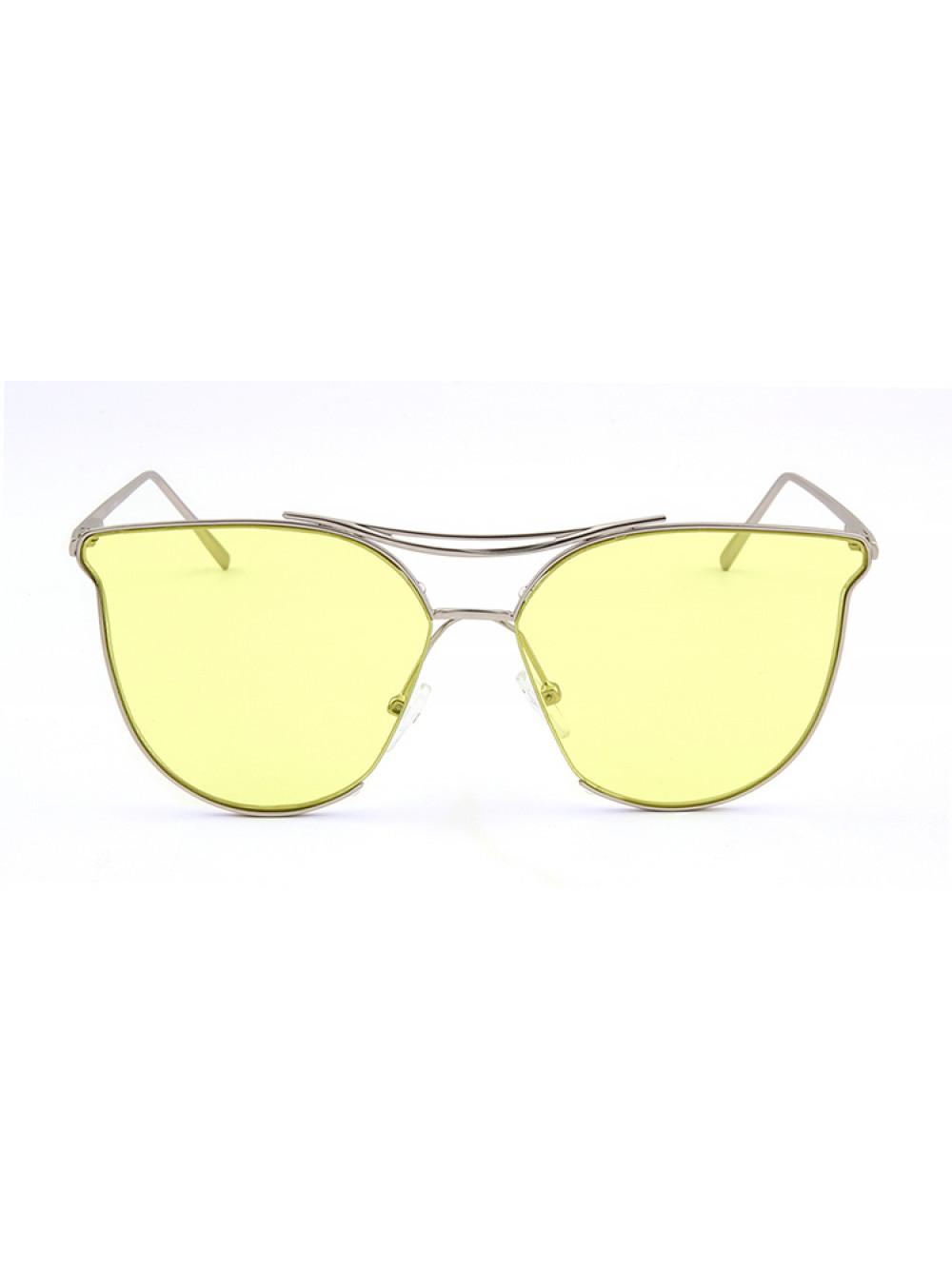 Slnečné okuliare Aviator Lady Yellow