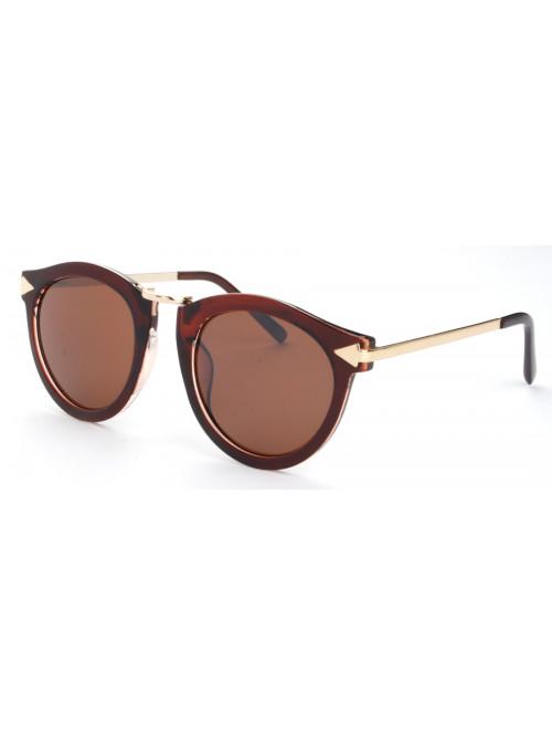 Slnečné okuliare Retro Bold Brown