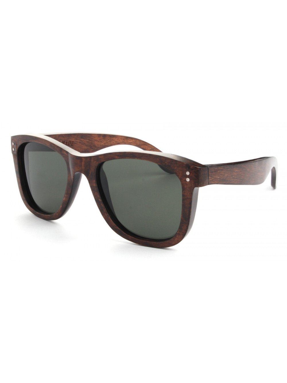 Drevené slnečné okuliare Elite Dark Wood