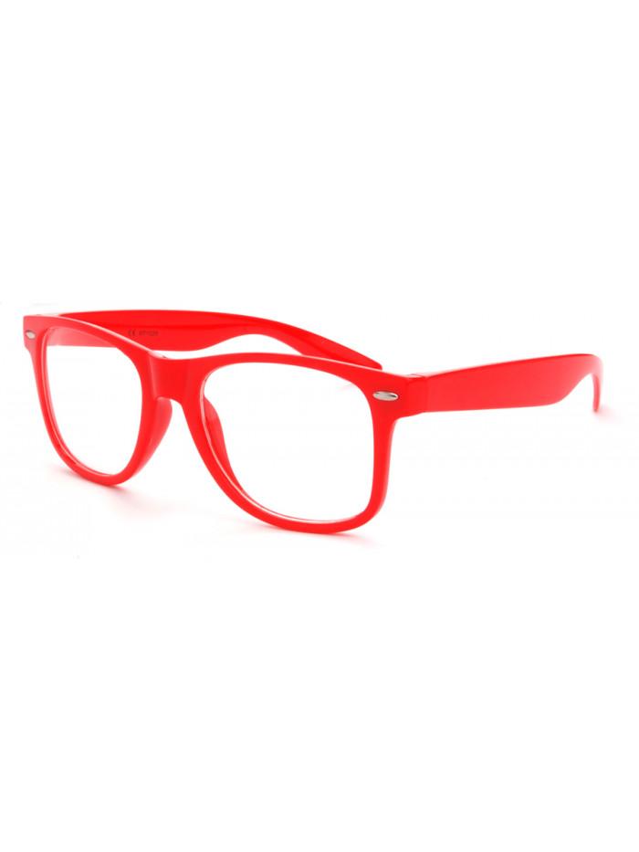 Okuliare Wayfarer Red Nerd