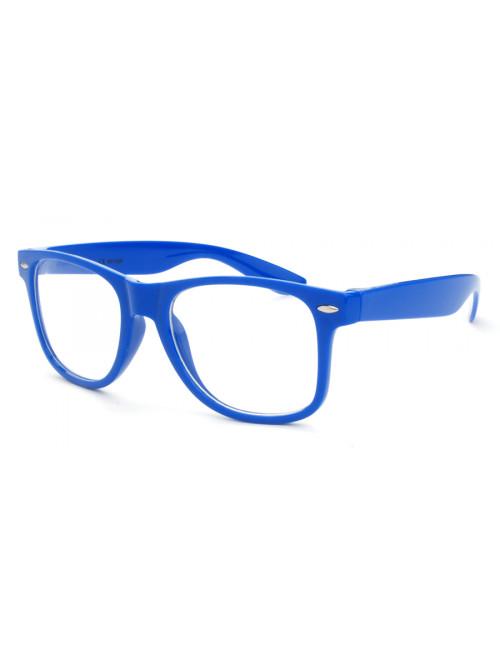Okuliare Wayfarer Blue Nerd