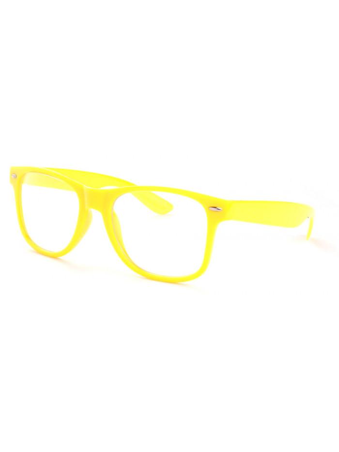 Okuliare Wayfarer Yellow Nerd
