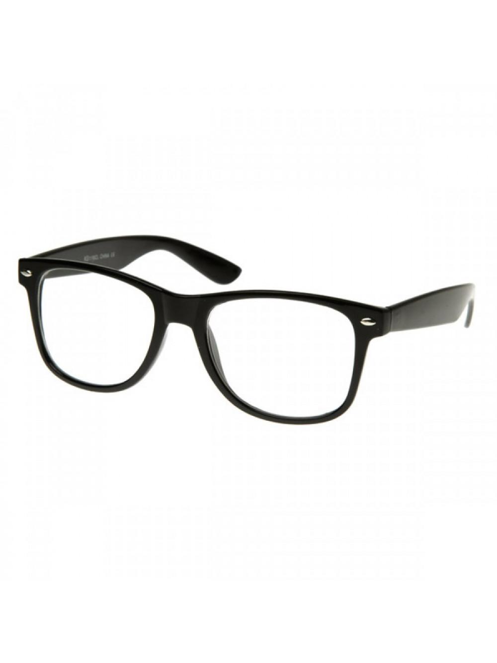 Okuliare Wayfarer Black Nerd