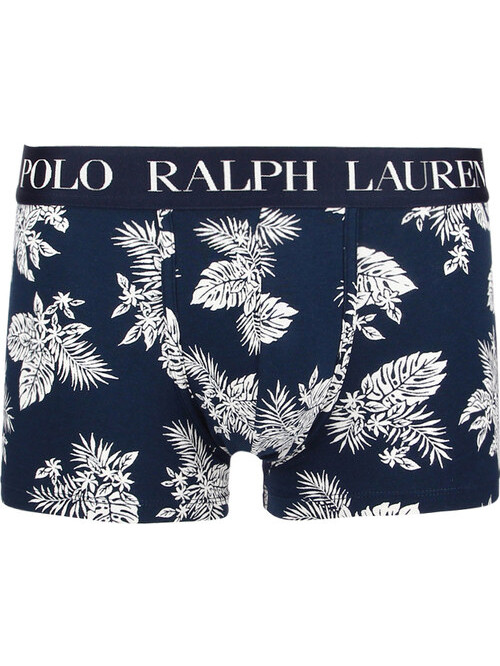 Pánske boxerky Polo Ralph Lauren Classic Print Trunk Stretch Cotton Tropical tmavomodré