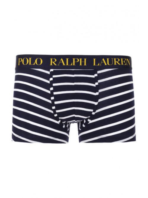 Pánske boxerky Polo Ralph Lauren Classic Stripe Trunk Stretch Cotton modrobiele pruhované