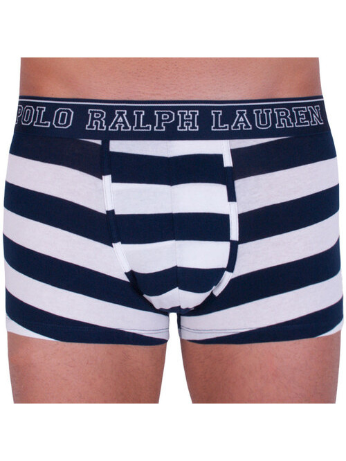 Pánske boxerky Polo Ralph Lauren Rugby Stripe bielo-modré