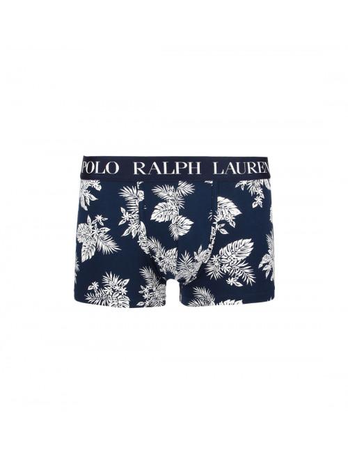 Pánske boxerky Polo Ralph Lauren Classic Print Trunk Stretch Cotton Tropical tmavomodré