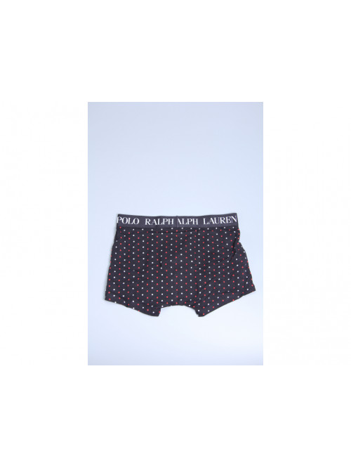 Pánske boxerky Ralph Lauren Polo Black Multi Polka Dot čierne