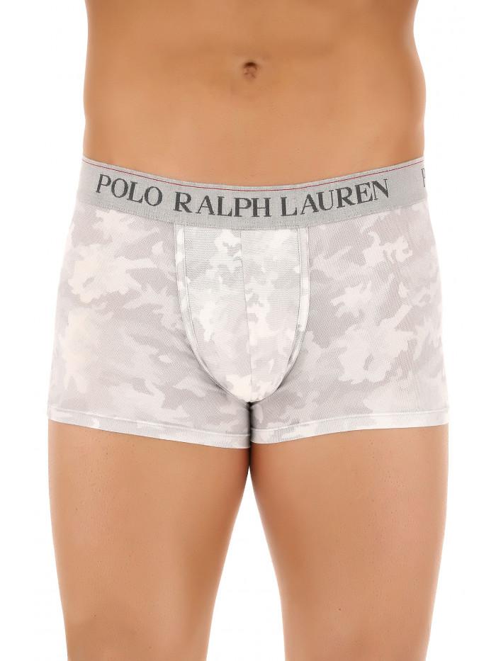 Pánske boxerky Polo Ralph Lauren Classic Trunk Grey Digital Camo sivé