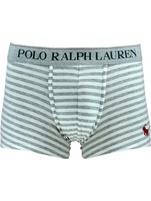 Pánske boxerky Polo Ralph Lauren Spring Heather Nevis Stripe sivé