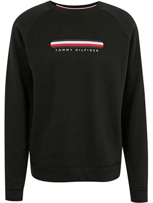 Pánska mikina Tommy Hilfiger SEACELL-TRACK TOP čierna