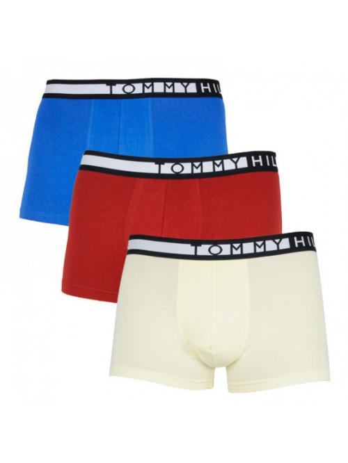 Pánske Boxerky Tommy Hilfiger 3-pack modré, žlté, červené