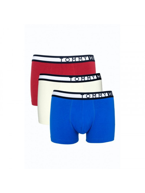 Pánske Boxerky Tommy Hilfiger 3-pack modré, biele, červené