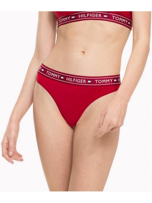 Dámske nohavičky Tommy Hilfiger Brazilian Pants červené