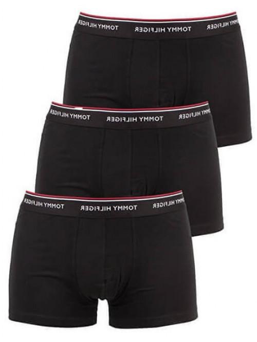 Pánske boxerky Tommy Hilfiger Premium Essentials čierne 3-pack