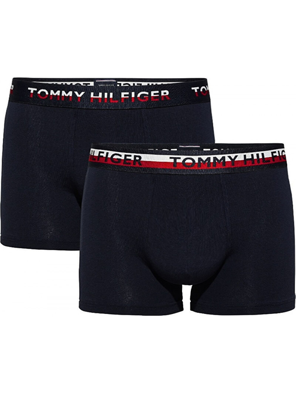 Pánske boxerky Tommy Hilfiger Trunk v čiernej farbe 2-pack