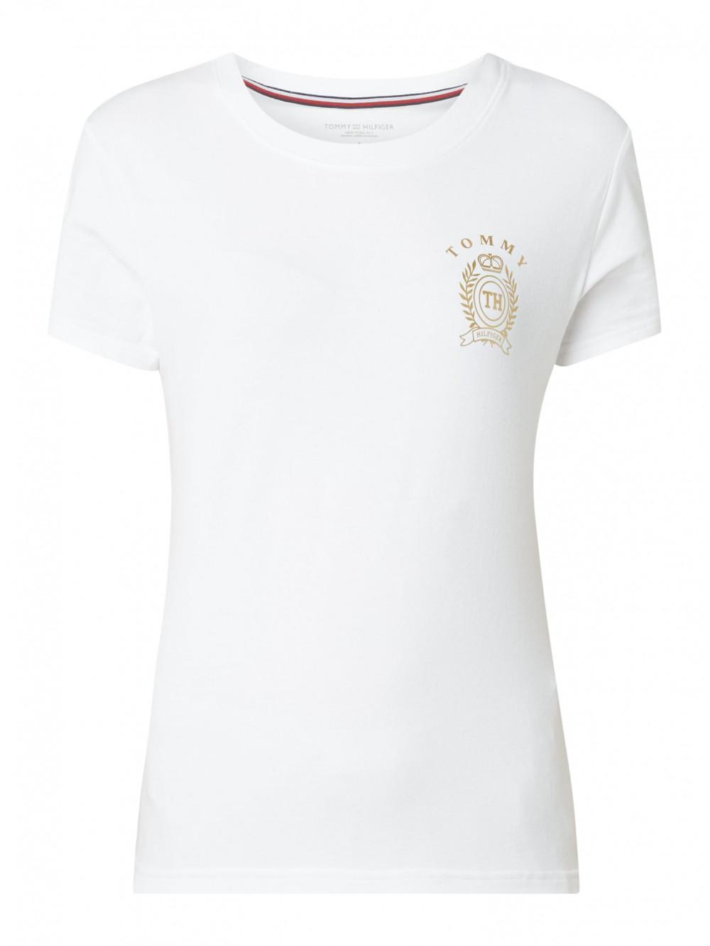 Dámske tričko Tommy Hilfiger CN Tee SS biele
