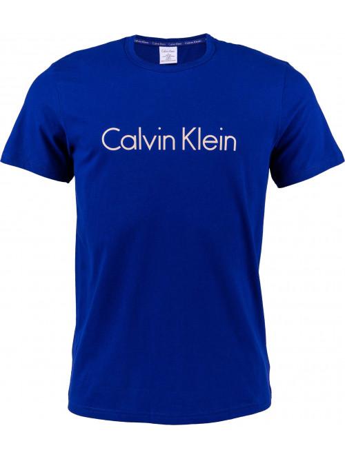 Pánske tričko Calvin Klein SS Crew Neck tmavomodré