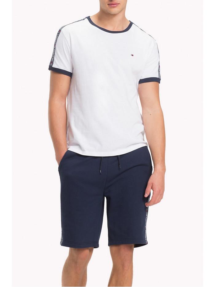 Pánske tričko Tommy Hilfiger RN TEE SS biele
