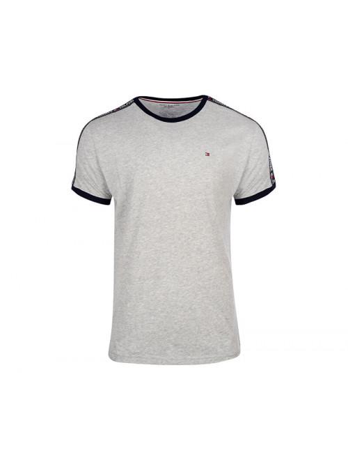 Pánske tričko Tommy Hilfiger RN TEE SS sivé