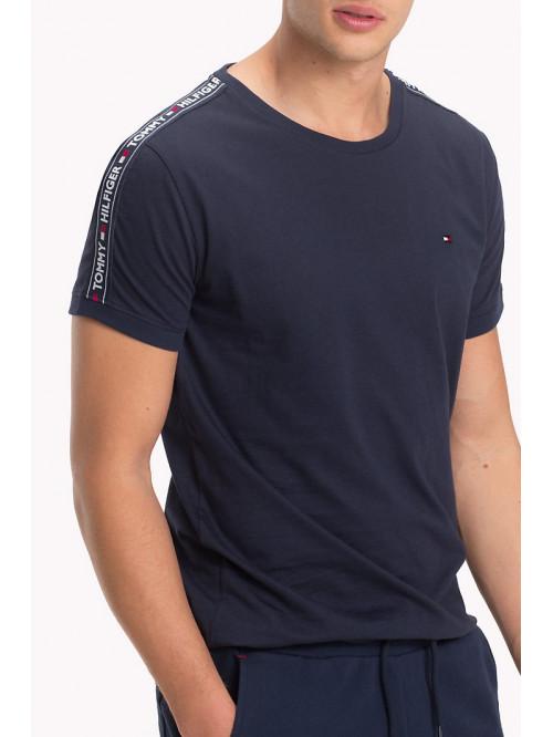 Pánske tričko Tommy Hilfiger RN TEE SS navy