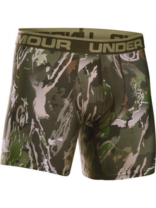 Pánske boxerky Under Armour BOXERJOCK camo zelené