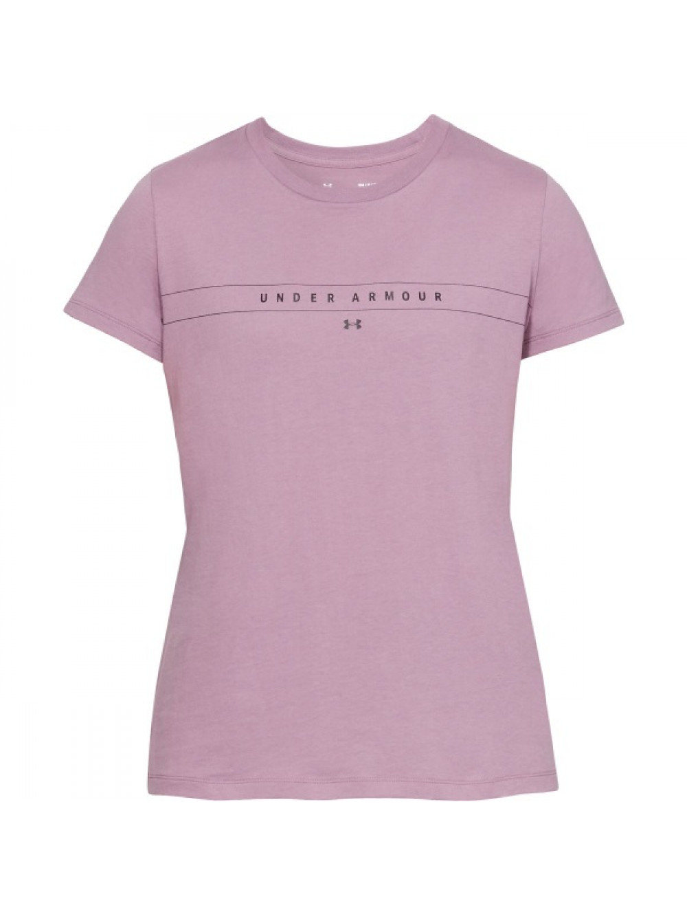 Dámske tričko Under Armour Classic Crew fialové