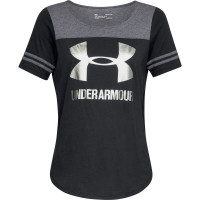 Dámske tričko Under Armour Sportstyle Baseball čie...
