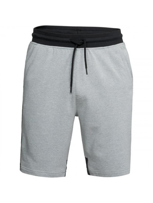 Pánske kraťasy Under Armour Microthread Terry sivé