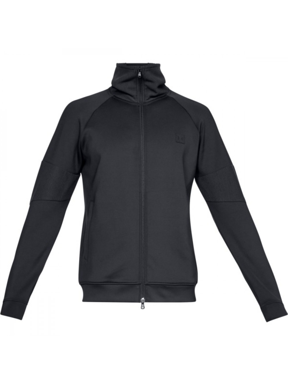 Pánska bunda Under Armour Perpetual Track Jacket Čierna
