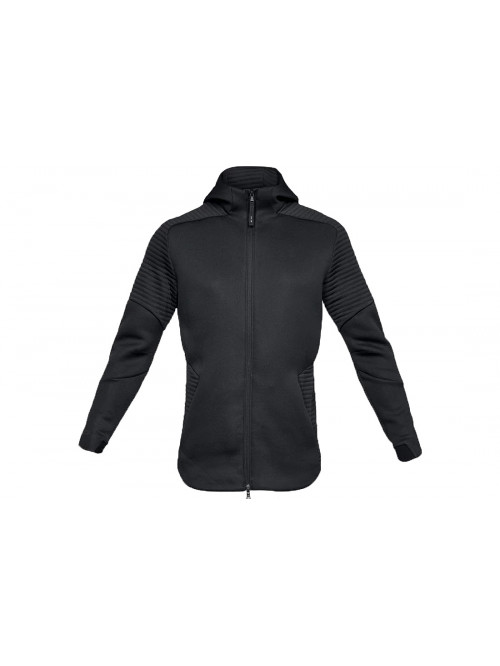 Pánska mikina Under Armour Unstoppable Move FZ Hoodie Black