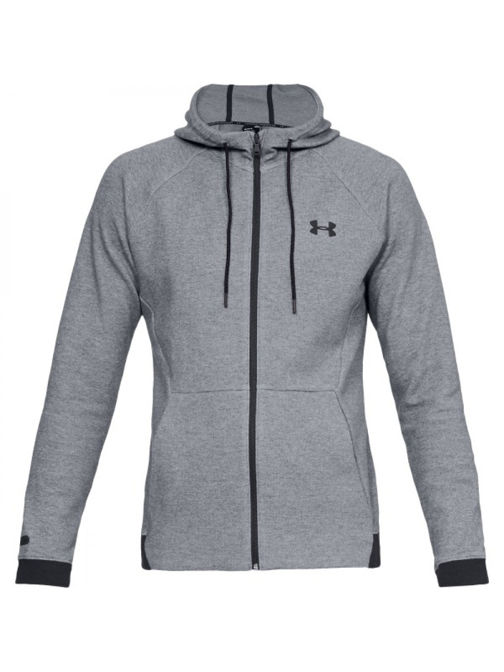 Pánska mikina Under Armour Unstoppable 2X KNIT FZ Gray Steel Sivá