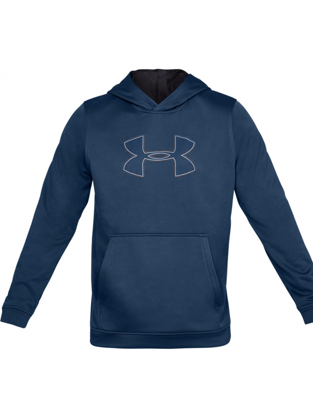 Pánska mikina Under Armour Performance Fleece Graphic Hoody modrá