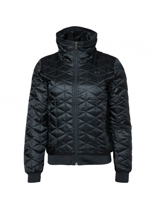 Dámska bunda Under Armour CG Reactor Performance Jacket čierna