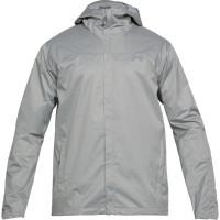 Pánska bunda Under Armour Overlook Jacket sivá